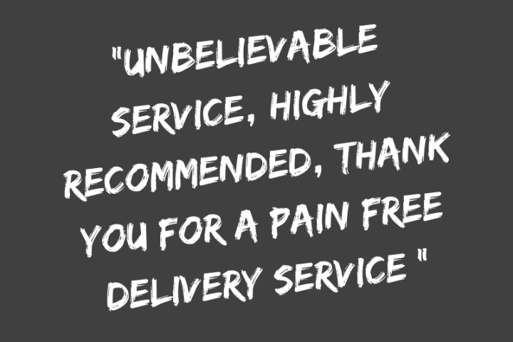 Speedel Sameday Delivery Customer Review