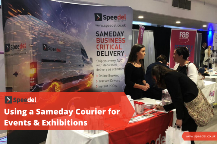 Advantages of Using a Sameday Courier for Business Events