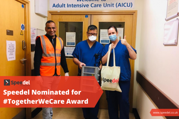 Speedel Nominated for #TogetherWeCare Award