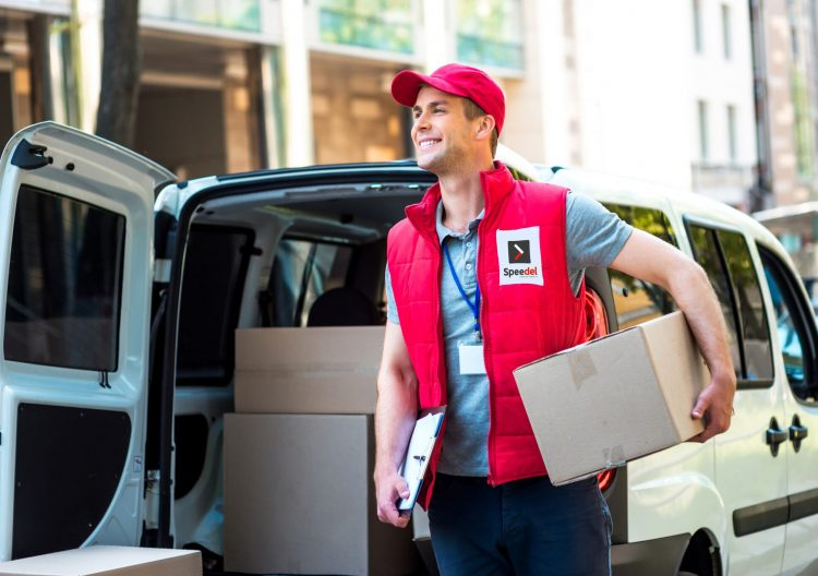 Speedel Same day delivery driver